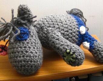 Smarty Pants Crocheted MLP Amigurumi Plush - My Little Pony Friendship is Magic