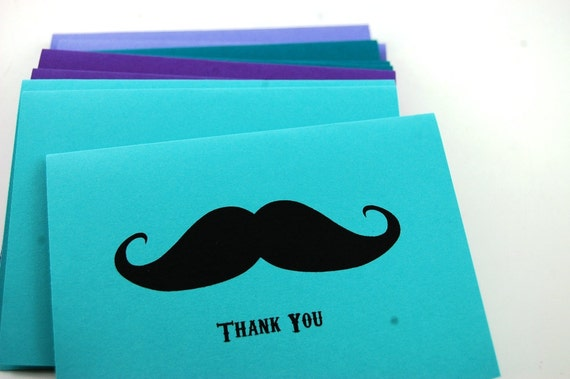 Thank You Cards Set of 12 The Cool Water Collection Choose Your Custom Image
