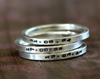 Personalized rings (E0296)