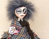 Mrs Clara Sucksby - The Victorian Baby Farmer Art Doll