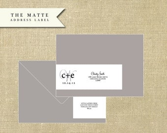 The Address Label - Matte
