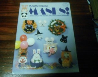 Mask Plastic Canvas Patterns Masks Hot off the Press 325 Plastic Canvas Pattern Leaflet