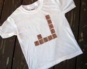 Scrabble Tile Creeper or Tshirt - Jesus Loves Me or Custom Phrase