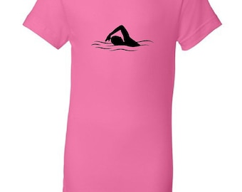 Kid's swimmer t-shirt - MORE COLORS AVAILABLE
