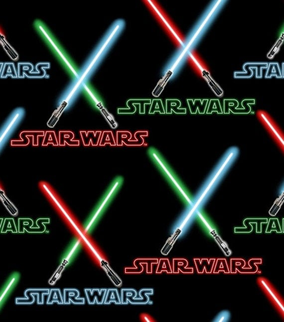 Unavailable listing on etsy for Star wars fabric
