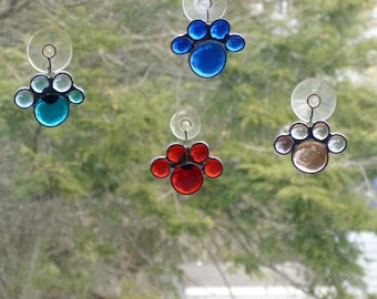 Paw Prints  Suncatchers