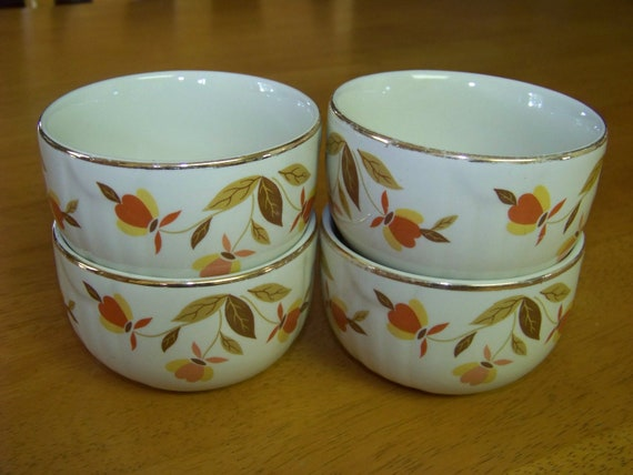 Vintage 1950 S Hall S Superior Jewel Tea Autumn Leaf By