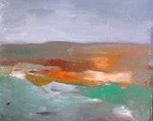 Landscape, Original oil painting on canvas