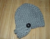 Crocheted Newsboy Hat for Newborns and Babies