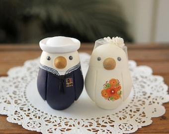 Wedding Cake Topper -- Medium -- Military Cake Topper