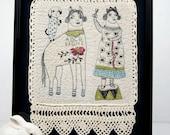 Embroidery-Folk Art- One of a Kind