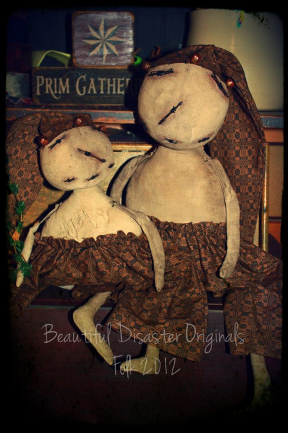 Pumpkin & Snow Folk Epattern