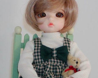 Turtleneck & Jumper - Wiggs Tiny BJD- Little Fee- IH BID- Similar size Tiny BJDs