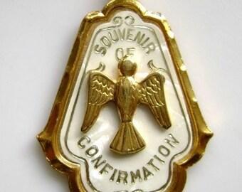 Holy Rare Christianity Catholic Confirmation Medal
