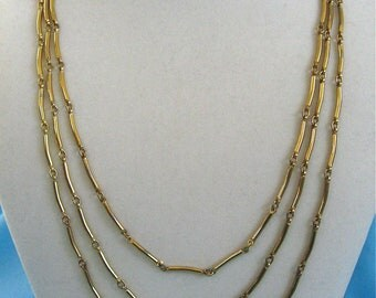 ON SALE was 16.99 Vintage Gold Chain Necklace