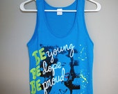 Be Young Be Dope Be Proud Tank Top (Small)