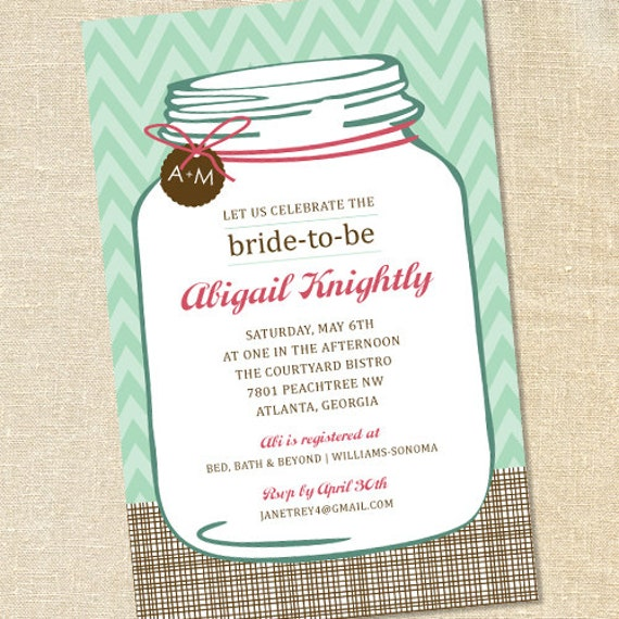 Sweet wishes southern mason jar bridal shower invitations printed il570xn filmwisefo