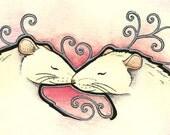 Minis - White Rats - Original Art