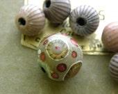 Torch-Fired Enamel Beads,  (006)