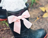 Ribbon Rain Boots by Dreamspun for Back To School