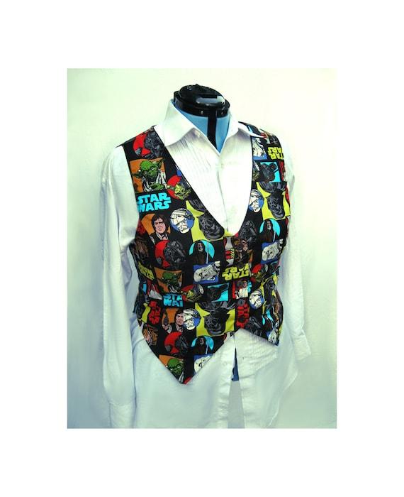 SALE Retro Style Star Wars Vest