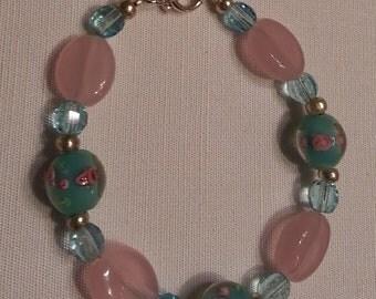 V001 Signs of Spring 5-strand Necklace