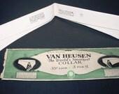 1920 Van Heusen, VAN YORK, DETACHABLE Collar & Store Display envelope, size 15, Boardwalk Empire Era, Wall art or Wear , Vintage Clothing St