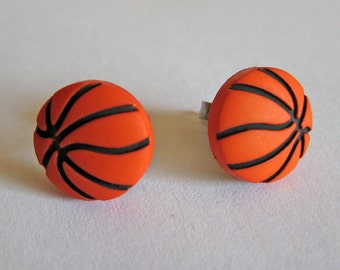 Basketball Earrings - Sports Jewelry - Girls Basketball