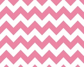 Medium Chevron by Riley Blake Designs,  RB320-70 Hot Pink, by the yard
