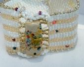 Confetti Beadwoven Bracelet