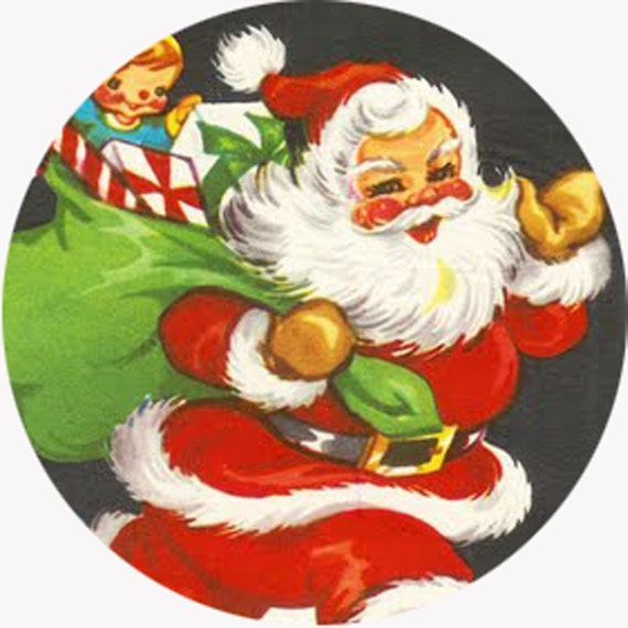 "Santa's Toys Ornament 3.5"""