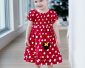 Mickey Mouse Dress 12 months - 12 girls - Product ID #MMD100