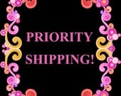 PRIORITY SHIPPING - (2-3 Business Days)