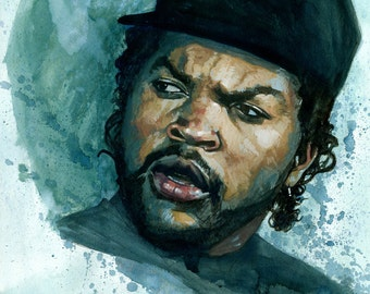Ice Cube - Original Painting