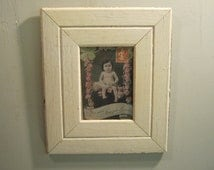 SHABBY ARCHITECTURAL Chic Salvaged Recycled Wood Photo Picture Frame 5x7 S-582-12