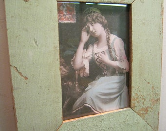 Reclaimed Wood Salvaged Picture Frame 5x7 NY- Salvage S-543-12