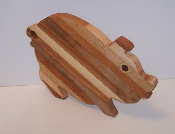 One Fancy PIG Cutting Board