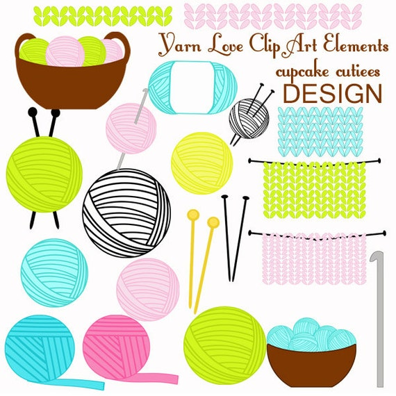 Crochet Hook And Yarn Clip Art hook clip art displaying