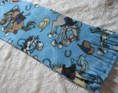 Five Buck Fleece Scarf Blow Out Special! Only at SylMarCreations!  Bucking Bronco Winter Fleece Scarf