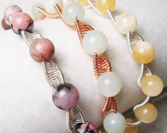 Twisty - Woven Bangle Bracelet Tutorial