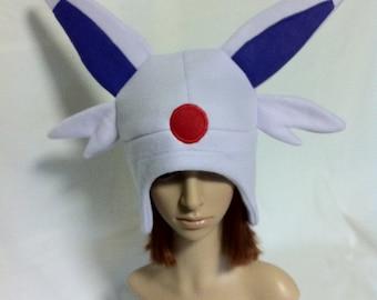 Espeon Fleece Earflap Beanie Pokemon