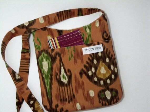 Hip Bag - Purse - Gypsy - Handbag - Crossbody Purse - Boho bag - Hipster bag - Ikat