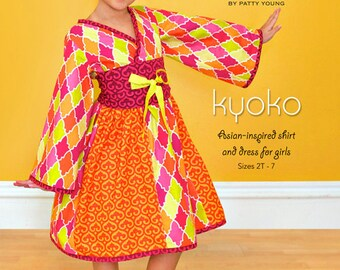 Dress Pattern Kyoko by Mod Kid Patterns