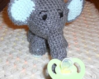Elephant Pacifier Holder
