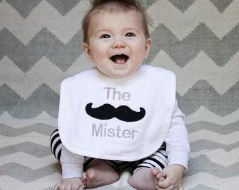 The Mister - Mustache Bib