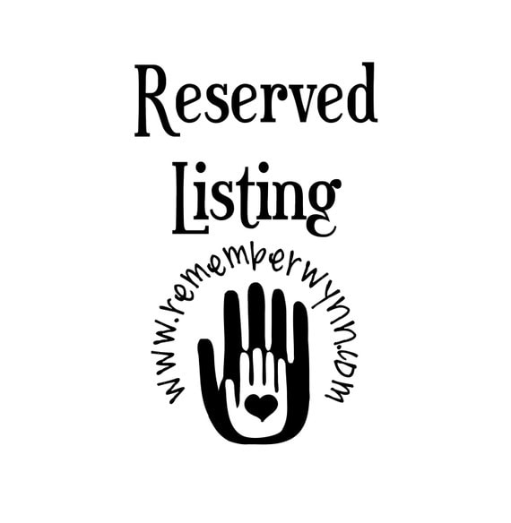 Reserved listing for Tamika