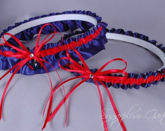 Washington Capitals Wedding Garter Set