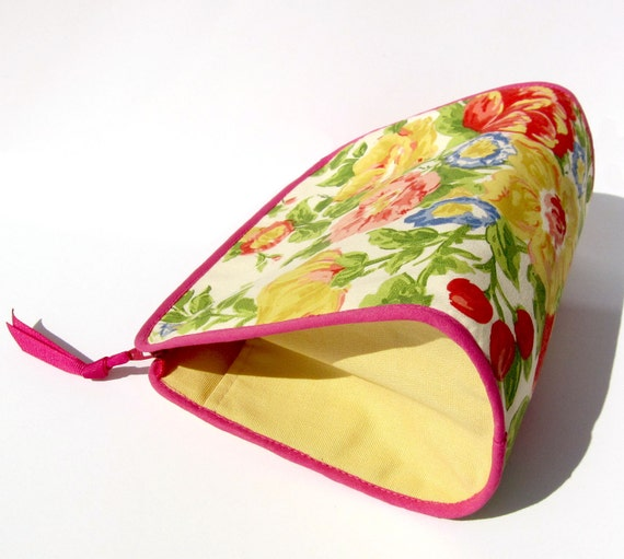 Spring Bouquet Make-up/Toiletry Bag/Pouch