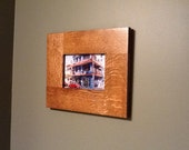 Quarter Sawn Oak Handcrafted 5x7 Picture Frame ...Mission Style...