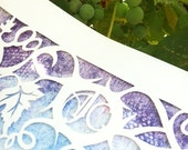 Fruit of the Vine Papercut Ketubah - Jewish Marrigage Contract or Wedding Vows